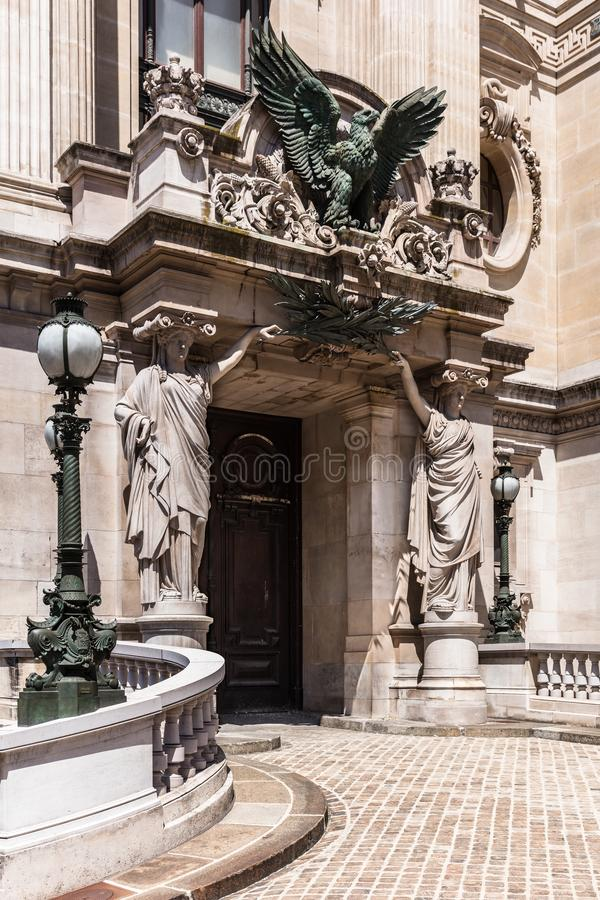 Opera House Paris - Grand Opera Opera Garnier. Paris, France royalty free stock photography