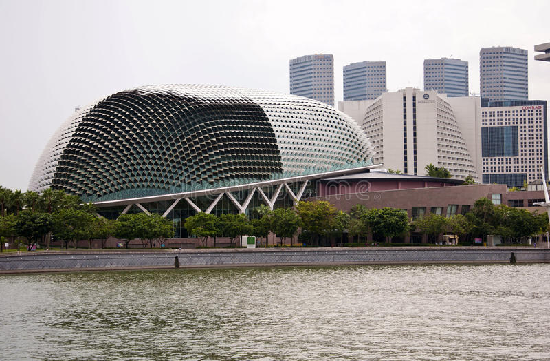Opera i Singapore royaltyfri bild