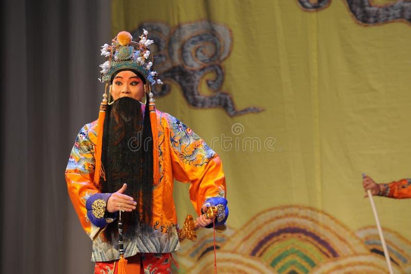 Opera laosheng-Peking: Chu Han-geschil royalty-vrije stock afbeelding