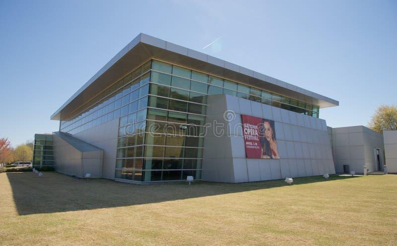 Opera Memphis Clarke Center, Memphis Tennessee royalty-vrije stock afbeeldingen