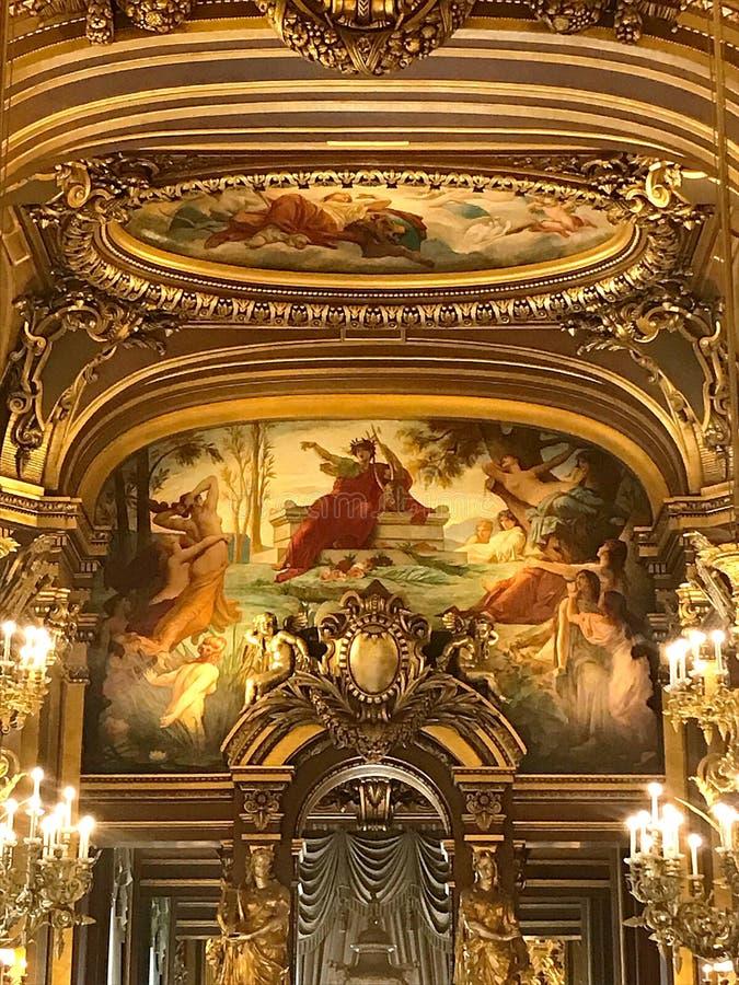Opera mer granier Paris royaltyfria foton