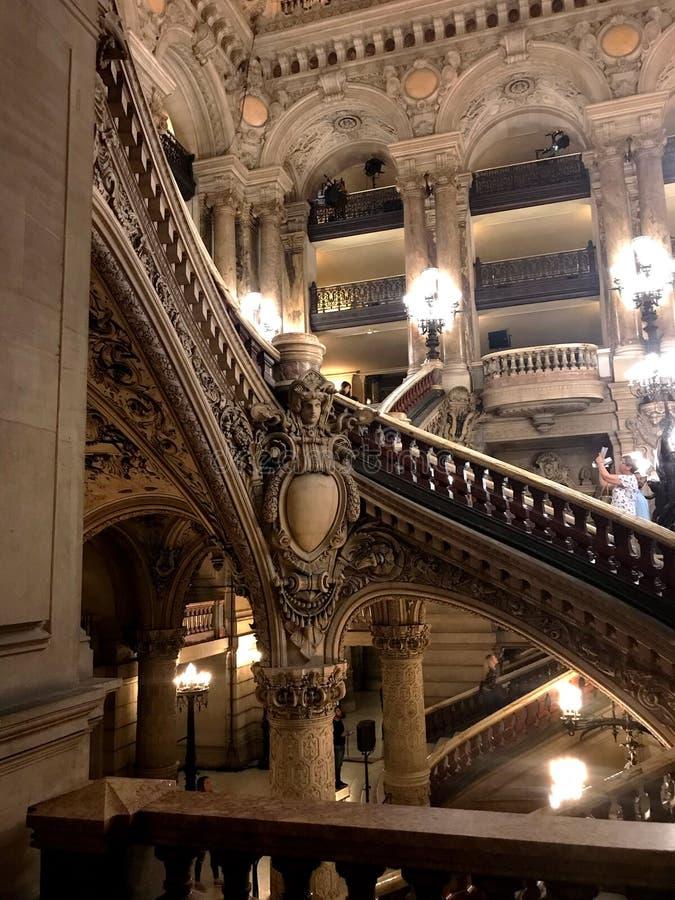 Opera mer granier Paris royaltyfria bilder
