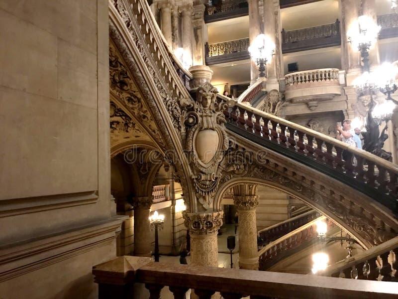 Opera mer granier Paris arkivfoto