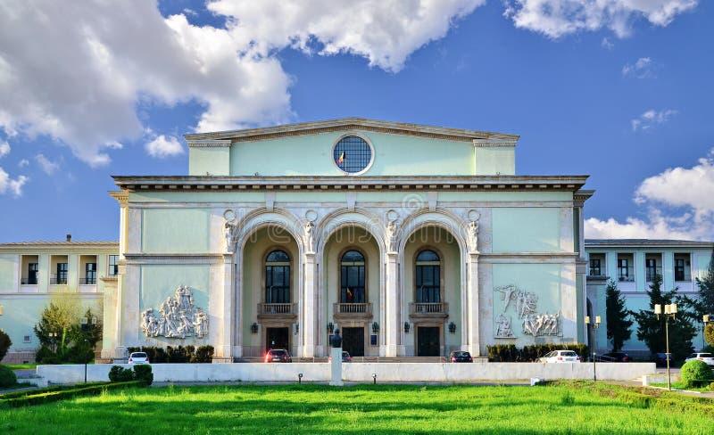 Opera nacional romeno imagem de stock