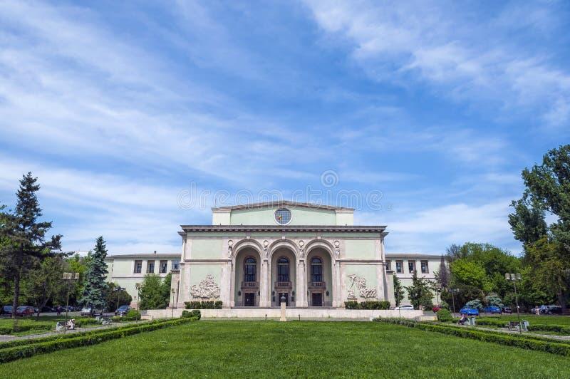 Opera nazionale rumena fotografia stock