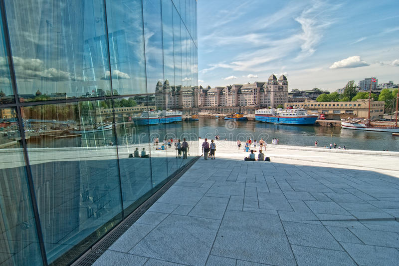Opera, Oslo zdjęcia stock