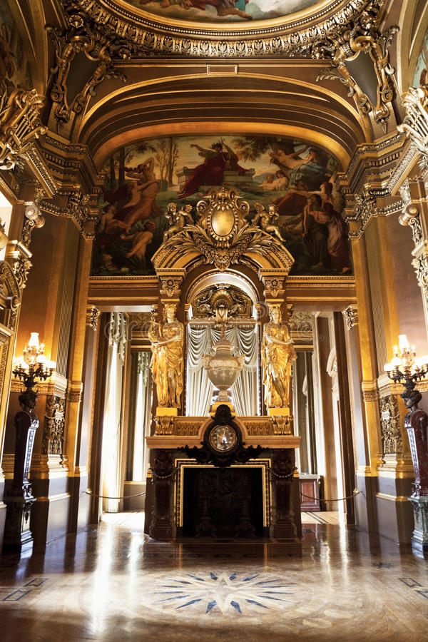 The Opera or Palace Garnier. Paris, France. stock images
