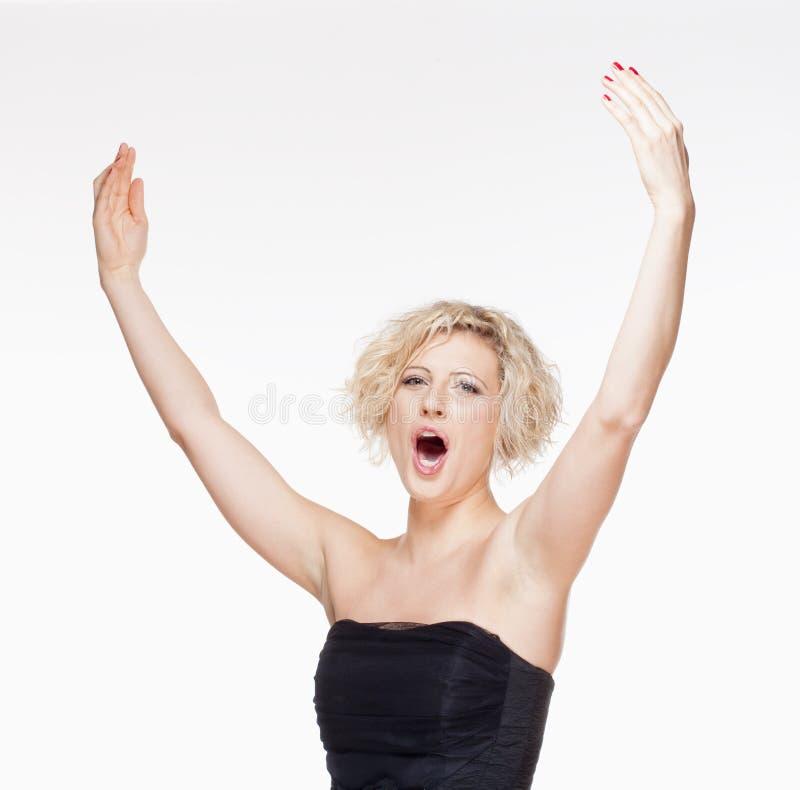 Free Opera Singer Performing Stock Photo - 35559100