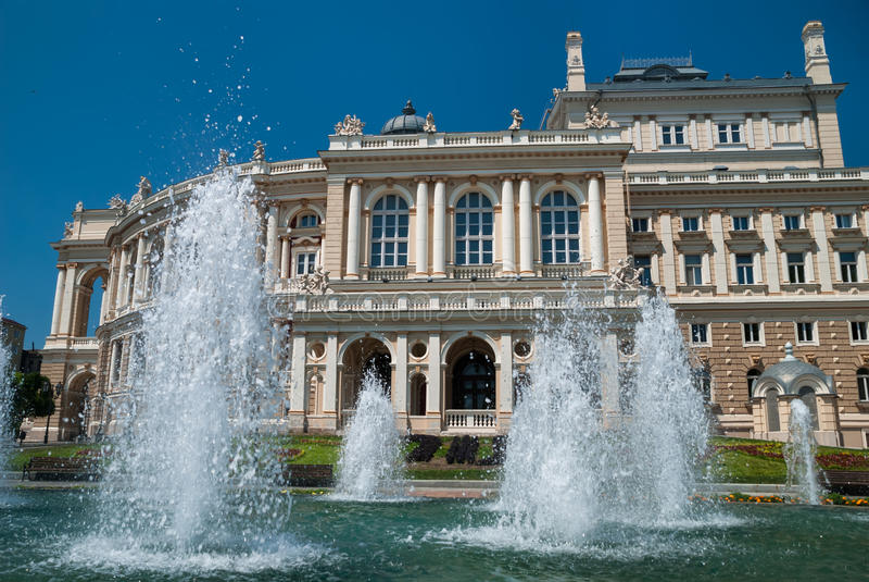Download Opera Theater In Odessa Ukraine Stock Image - Image: 26637905