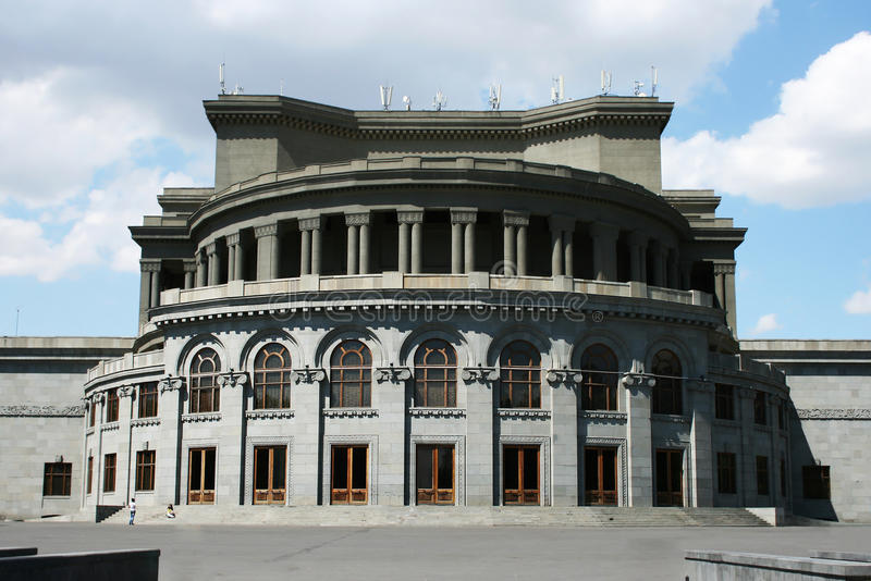 Download Opera Theater In Yerevan Stock Images - Image: 24500274