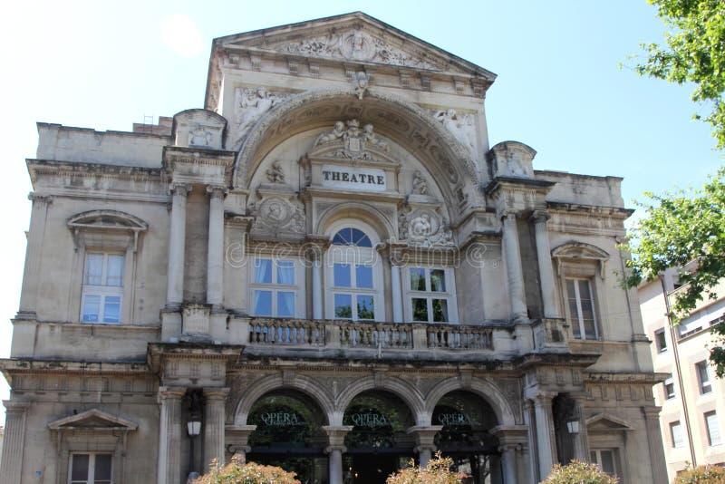 Opera theatre in Avignon, France. royalty free stock image
