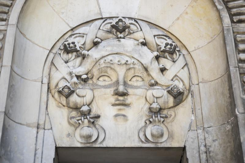 Opera van Vichy, details royalty-vrije stock foto's