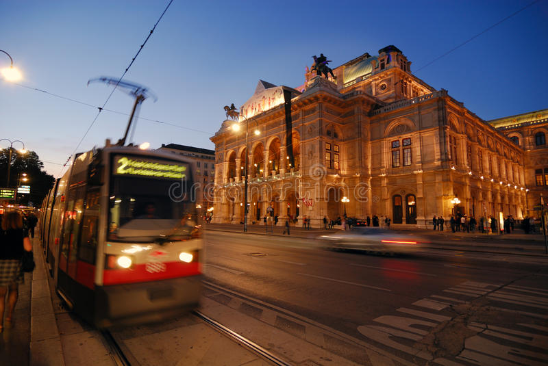 Opera Of Vienna Royalty Free Stock Images