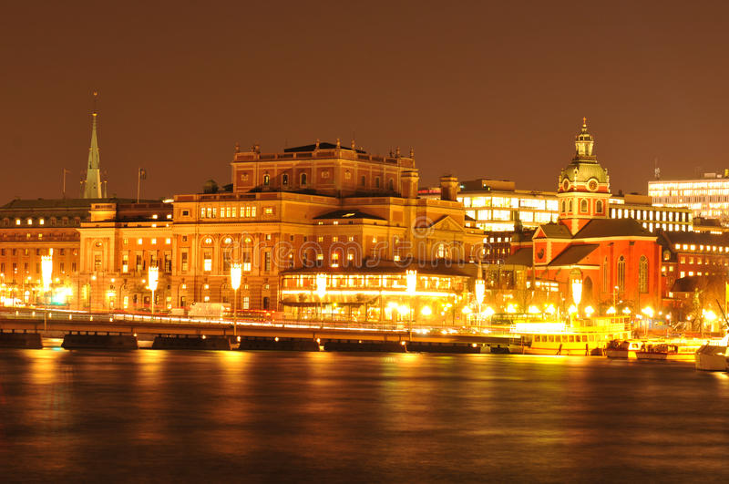 Opera w Sztokholm obrazy royalty free