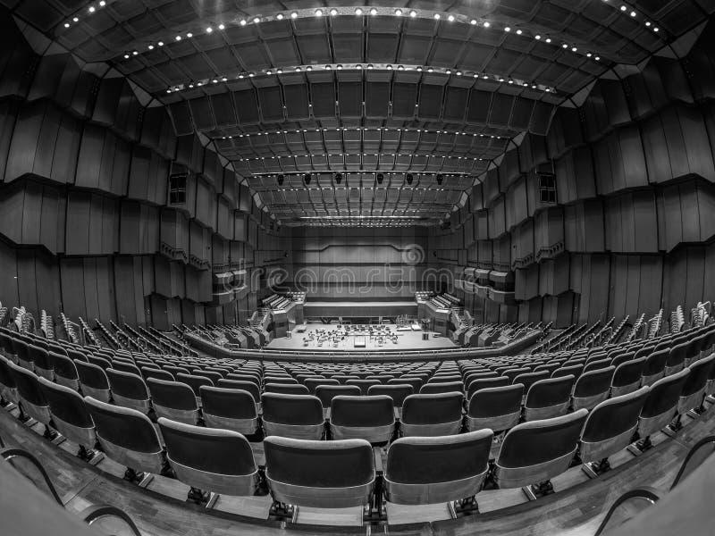 Opera. Wide angle photo of Frankfurt Opera royalty free stock photography