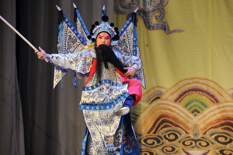 Opera wusheng-Peking: Chu Han-geschil royalty-vrije stock foto