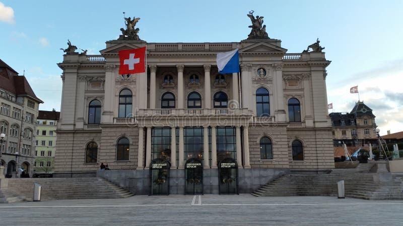 Opera Zurique fotos de stock royalty free