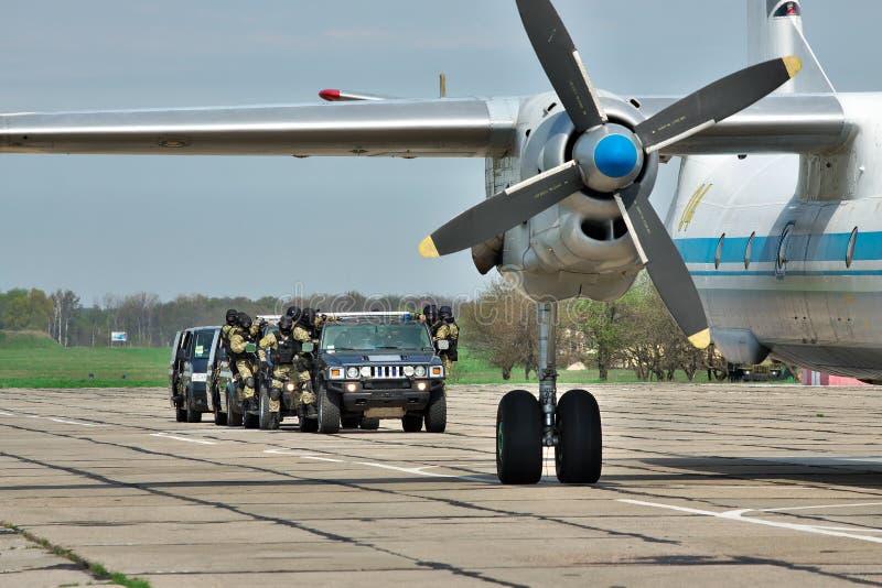 Operación antiterrorista fotografía de archivo libre de regalías