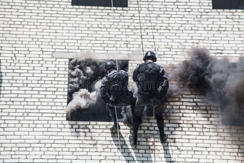Operación del asalto del GOLPE VIOLENTO imágenes de archivo libres de regalías
