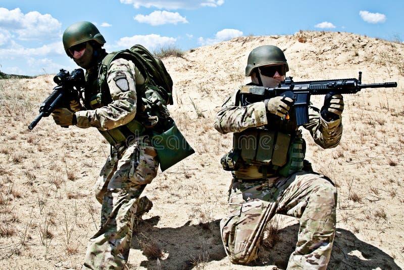 Operación militar foto de archivo