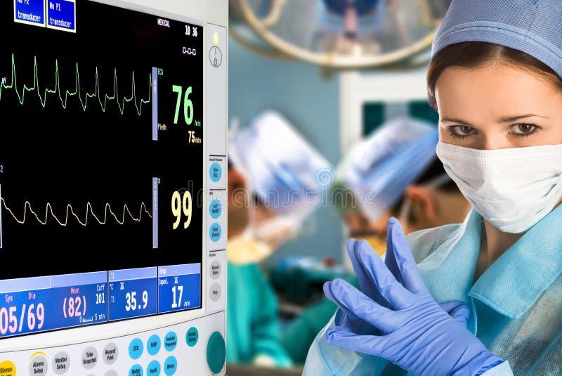 operacja doktorski żeński pokój fotografia royalty free