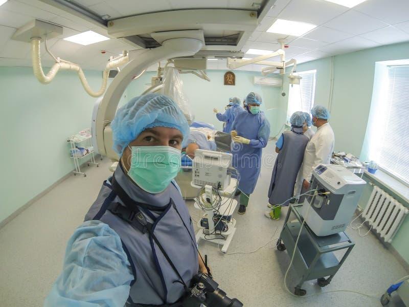 Operacja serca w szpitalu zdjęcie royalty free
