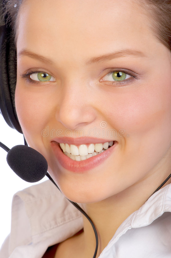 Operador. foto de stock royalty free