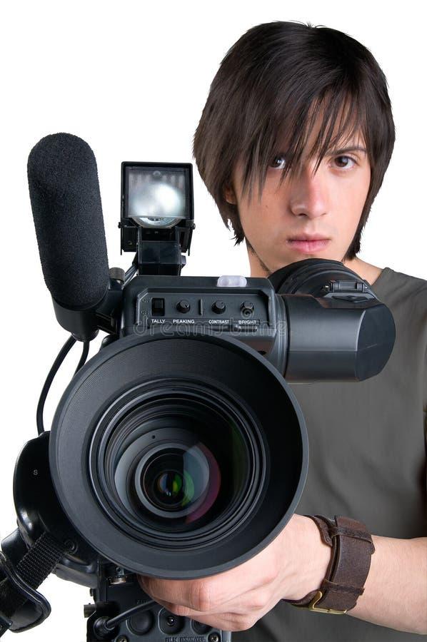 Operador cinematográfico. fotos de stock