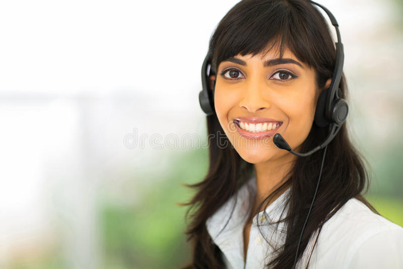 Download Operador De Centro De Atención Telefónica Foto de archivo - Imagen de elegante, empleado: 42426800