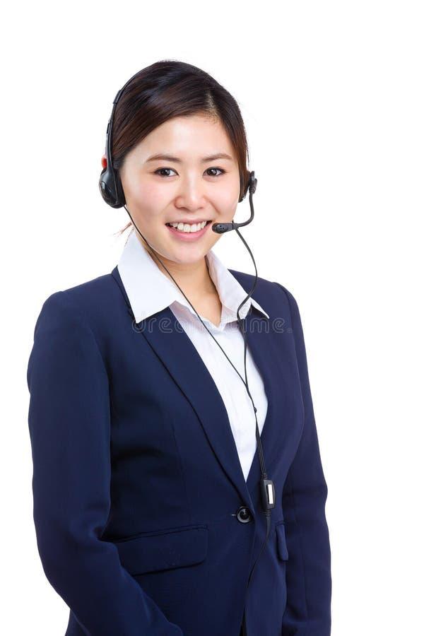 Download Operador De Sexo Femenino Del Servicio De Atención Al Cliente Imagen de archivo - Imagen de micrófono, hermoso: 42440217