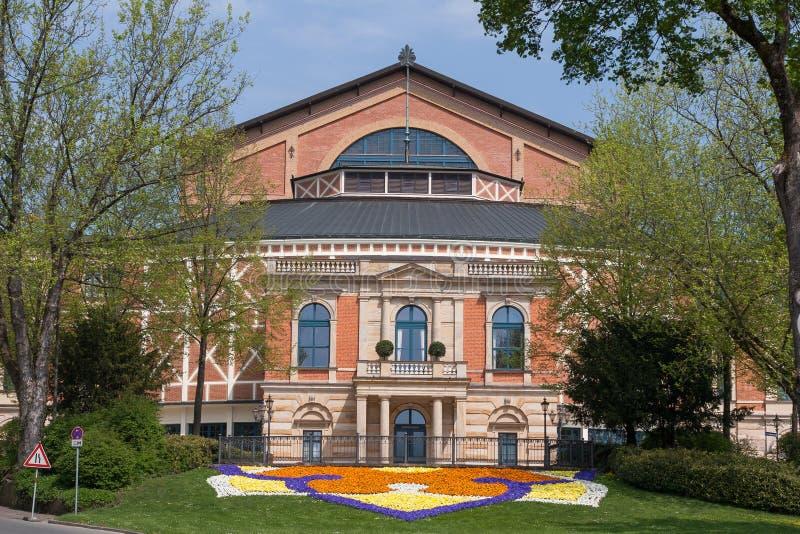 Operahuis in Bayreuth royalty-vrije stock foto's