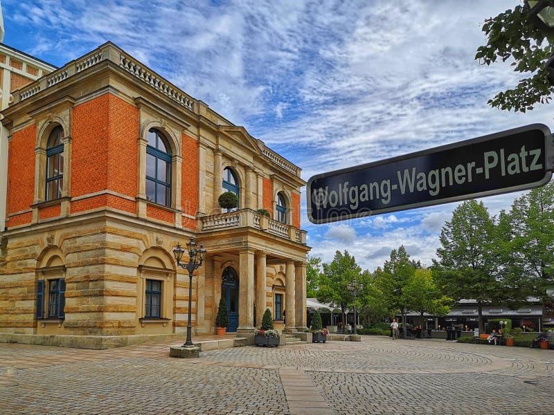 Operahuis in Bayreuth - Festival royalty-vrije stock afbeeldingen
