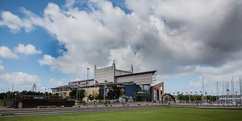 Operahuis bij haven Gothenburg royalty-vrije stock fotografie