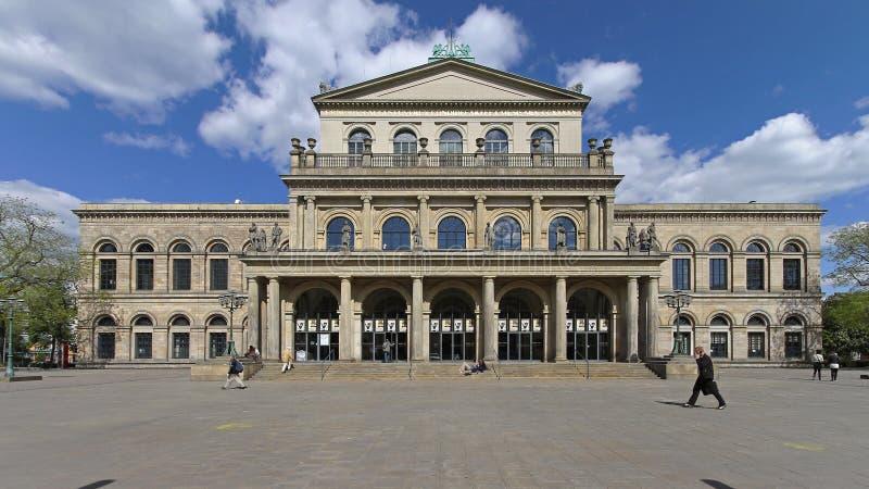 Operahuis Hanover royalty-vrije stock foto