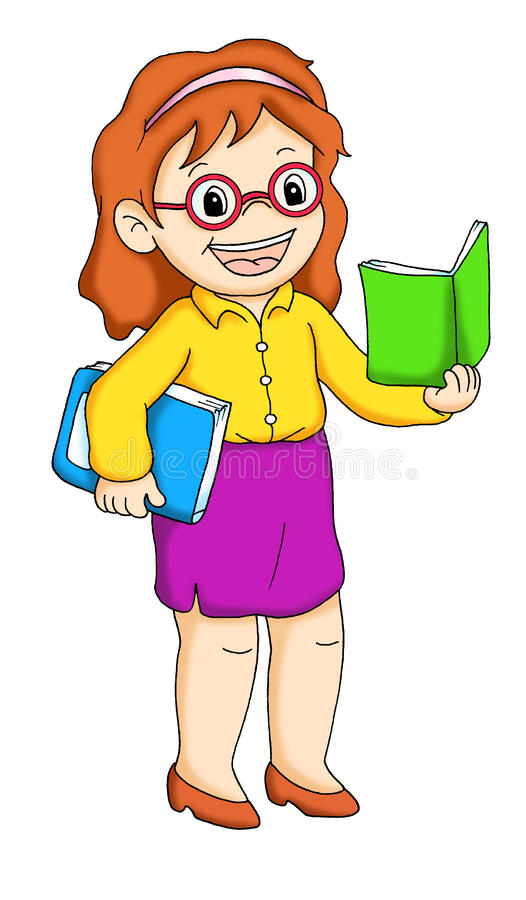 Operai 14, insegnante royalty illustrazione gratis