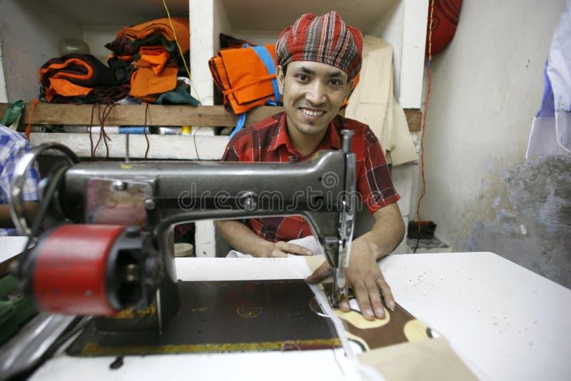 Operaio della tessile fotografia stock libera da diritti