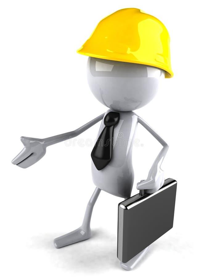 Operaio di costruzione royalty illustrazione gratis