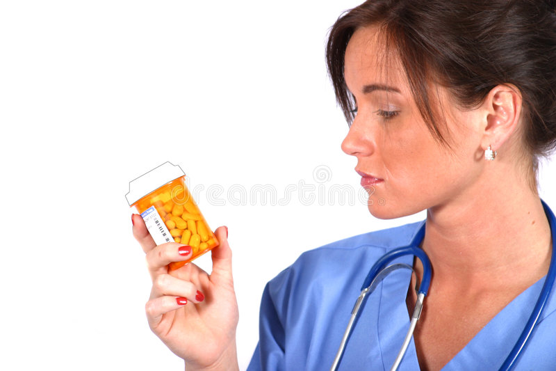 Operaio di Medcal fotografia stock