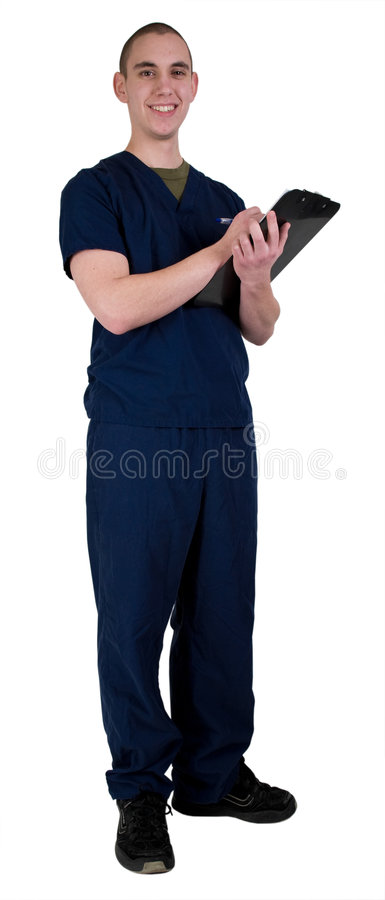 Operaio maschio di sanità immagine stock