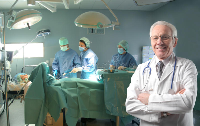 Operating Room Royalty Free Stock Photography