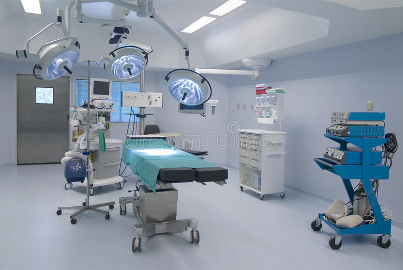 Operating room royalty free stock photos