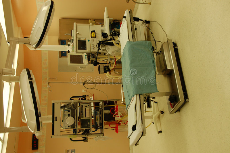 Operating table stock images