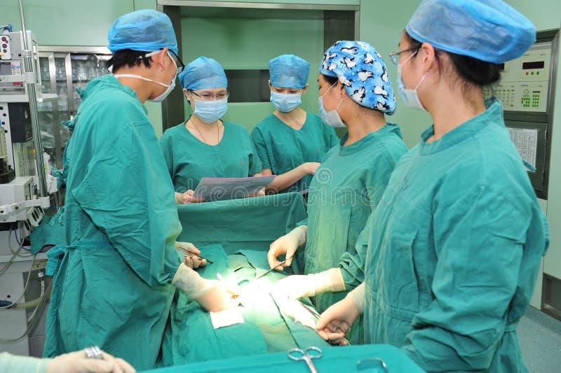 Operations-Entwurfvorbereitung vor Operation stockbilder