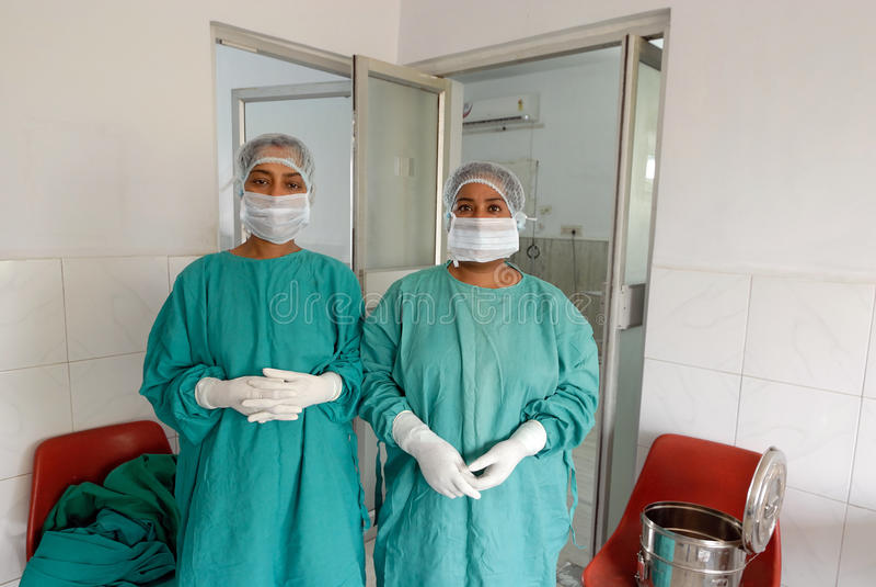 Operations-Theater im Krankenhaus lizenzfreies stockfoto