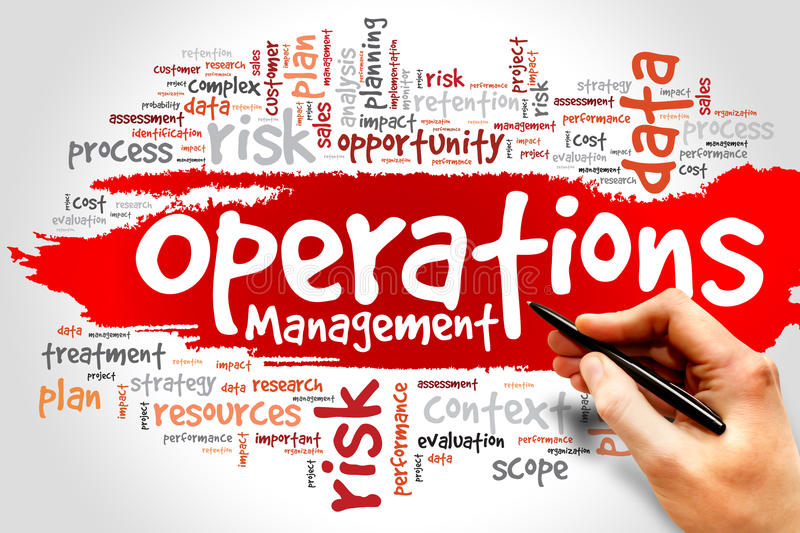 Operationsmanagement stockfotos