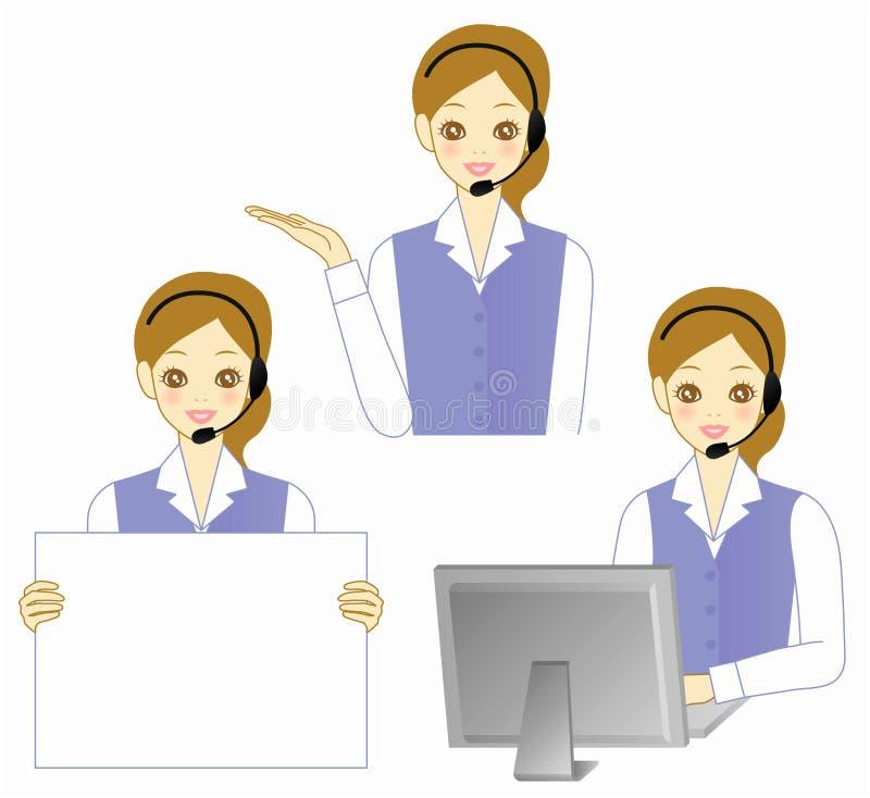 Download Operator stock vector. Illustration of beautiful, personal - 16247674