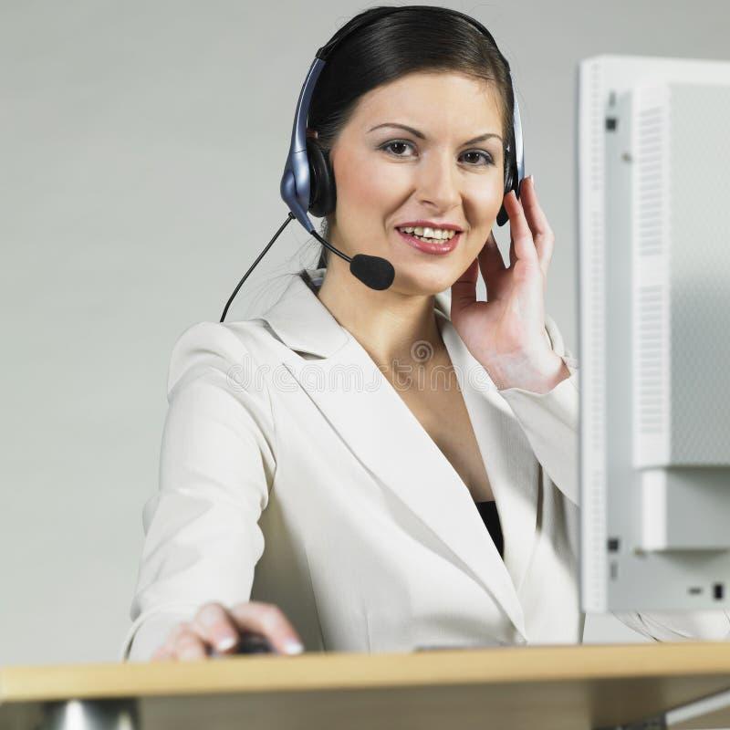 Operator stock image
