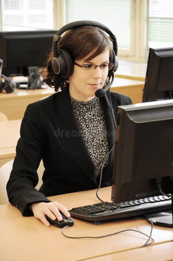 operator zdjęcie stock