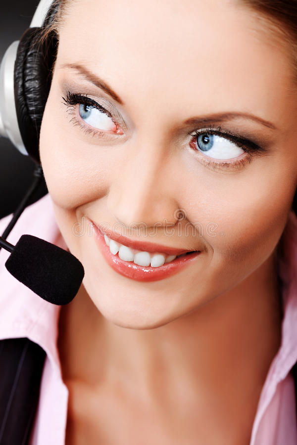 Download Operator stock image. Image of center, business, communication - 19159643