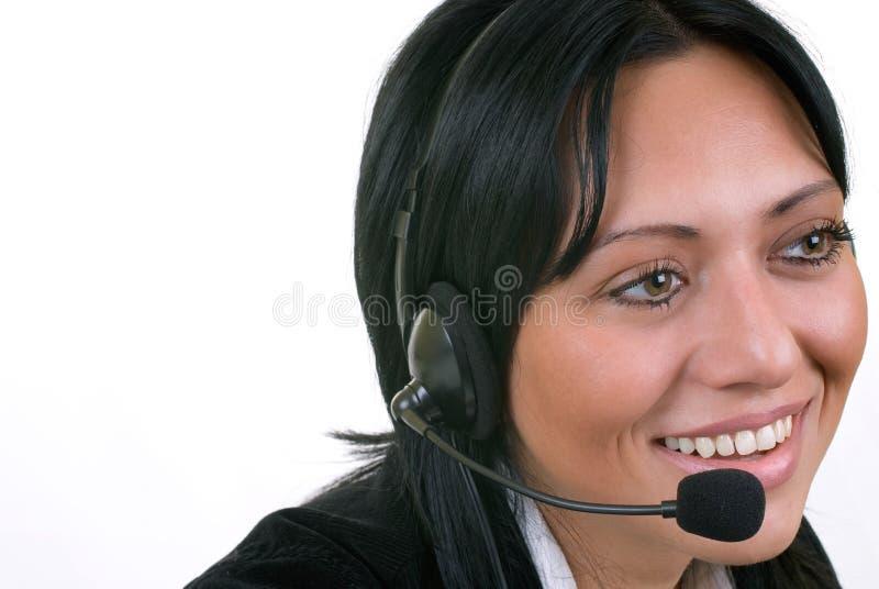 Operator royalty free stock photos